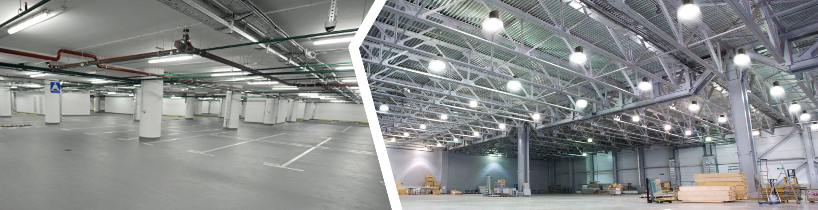 Промышленные светильники влагозащищенные и купольные