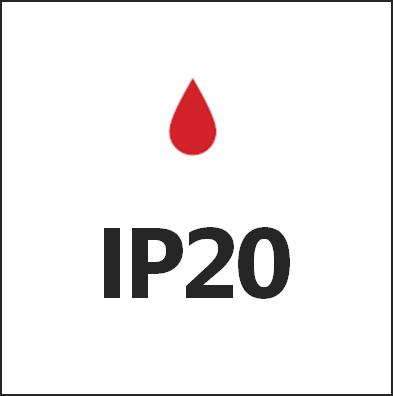 Степень пылевлагозащиты IP20