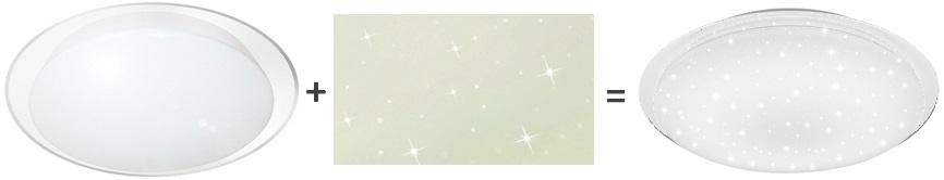 Светильник с эффектом звездное небо