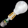 Устройство филаментной лампы