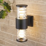 Филаментная лампа в настенном светильнике
