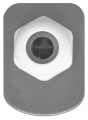 Светильник IP65 2х58 - вид сбоку