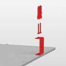 Накладное крепление светодиодной панели